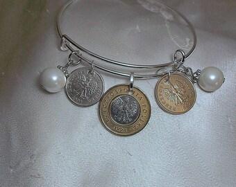 Poland Coin Bracelet