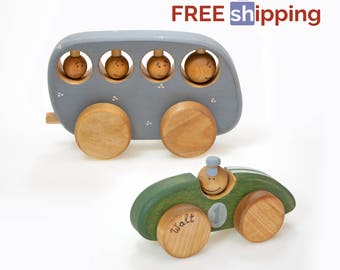 Wood Toys, Best Wooden Toys for Toddlers, Free Shipping Christmas Gift, Wood Kids Toys, Safe Toys for Kids