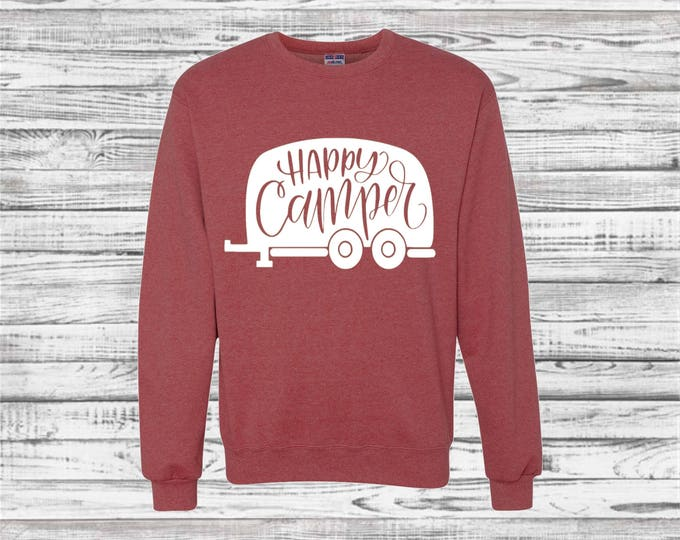 Camping Sweatshirts, Custom Camping Sweatshirts, Camper Sweatshirt, Road Trip, Mountain, Hiking, RV, Outdoors, Adventure, Hiking Sweatshirt