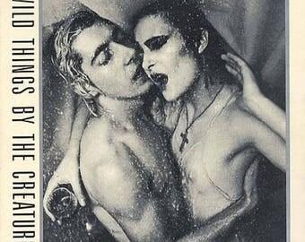 "CREATURES Wild Things 1981 UK Original 2 X 7"" 45 rpm Double Vinyl Single Record Pop 80s British Punk New Wave Siouxsie pospd354"