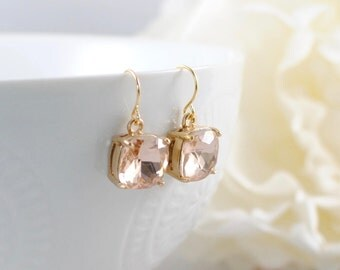 The Alexea Earrings - Blush