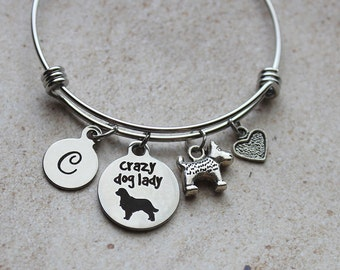 Crazy Dog Lovers Bracelet, Dog Lovers Jewelry, Dog Lovers Gifts, Gifts for Dog Lovers, Jewelry for Dog Lovers, Dog Lovers, Animal Lovers