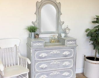 Vanity Table Painted Furniture Shabby Chic