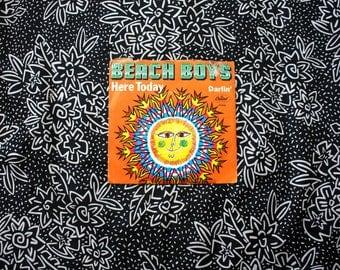"""Beach Boys - Darlin' - Here Today Vintage Vinyl 45 7"""" Record.Original 1968 Capitol Records Garage Psych Rock Record."""