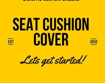 Custom order Designer Wheelchair/Powerchair Seat Cushion Covers ,SeatSkin, by G.U.S.T.O.