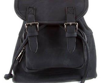 Black Mini Bookbag