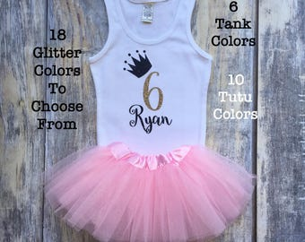 Girl's First Birthday Outfit, Girls 1st Birthday Outfit, Girls Birthday Shirt, girls Birthday Dress, Shirt, Girl's Tutu Outfit, One Shirt