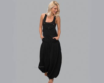 Baggy Jumpsuit - Overall -  Women dungarees  - Cotton