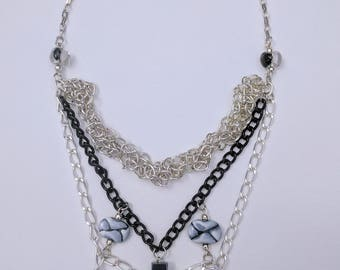 Ying Yang Triple Threat Necklace