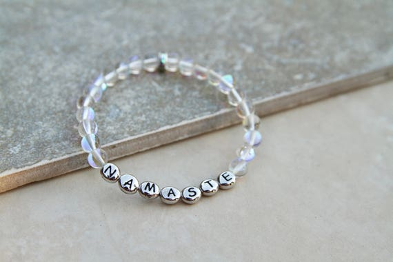 Namaste   Vision Bead Bracelet