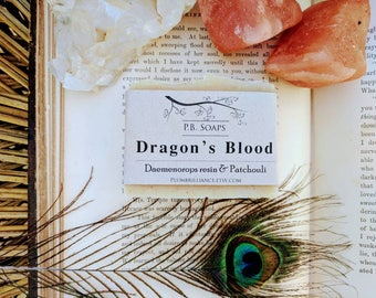 Dragon's Blood Soap - skin healing benefits, cleansing, purification, love