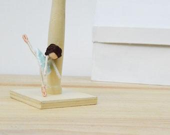 Ballet Doll - ballet fairy doll, ballet fairies, ballerina doll, dance recital gift, ballet gift, dancer doll, ballerina fairy doll