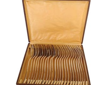 French Silver Flatware Set- 24 Pieces