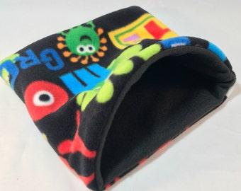 """Small animal snuggle sack sleeping bag 9"""" x 8"""""""