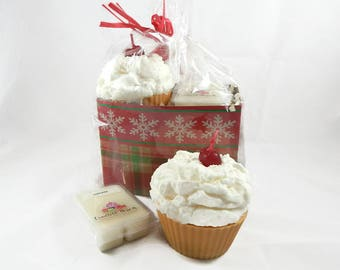 Jumbo Cupcake Candle & Wax Melt Gift Set