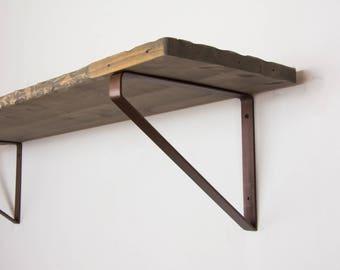 pair of bronze shelf brackets newest design inverted triangle brackets steel shelf brackets