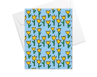 Tulip Fold Over Note Cards