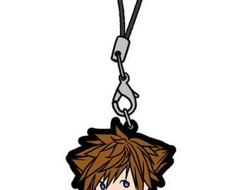 Kingdom Hearts 3 Sora Charm Keychain