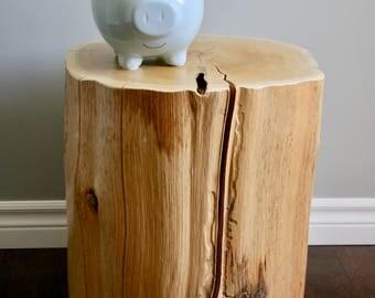 Cedar Stump Table