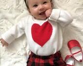 Valentine's Day Headband, Baby headband, glitter heart headband, glitter heart, pink valentines headband, glitter headband