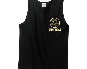 Kanye West Tour yeezy yeezus Black Saint Pablo Tour T-Shirt New 2016 2017 tank top clothing shirt