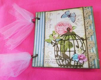 The Vintage Tea Scrapbook/Journal