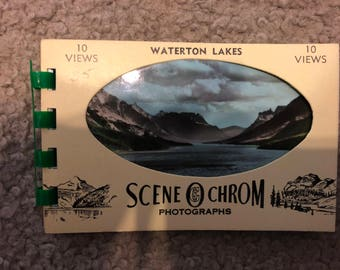 Waterton Lakes Souvenir Booklet