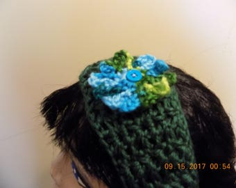 1705---Forest Green Headband