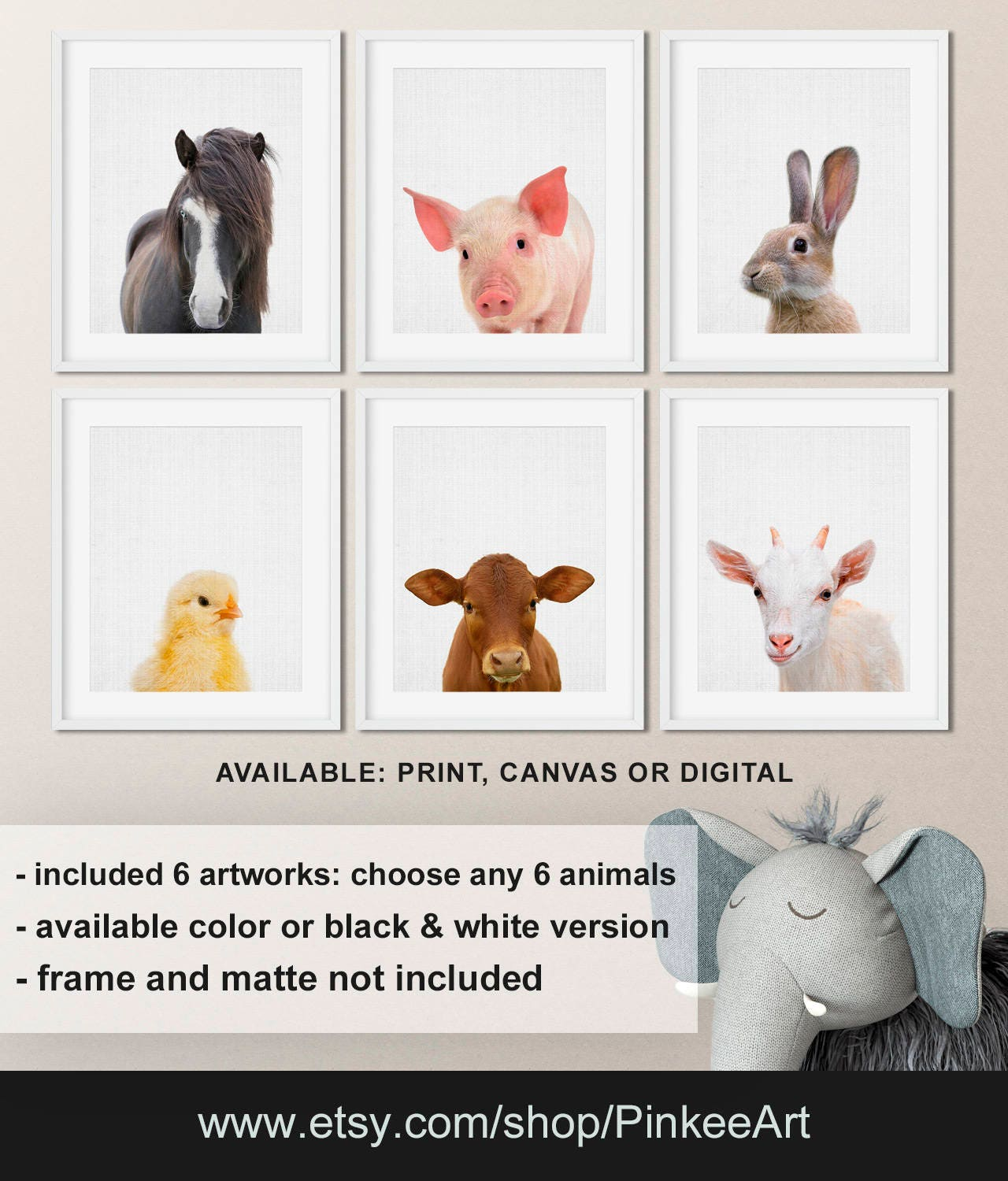 farm animals pictures to print