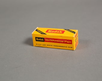 Kodak Verichrome Pan Black and White Panchromatic Film - 1 roll of Vintage VP620 1970's Film - Professional Expired Film