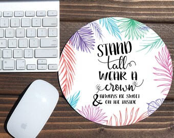 stand tall pineapple / mouse pad / pineapple mouse pad / mousepad / pineapple / office decor / custom mouse pad / mouse mat / monogrammed