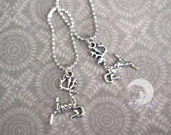 "Necklace ""Deer"" for Pullip, Blythe, Dal, Yeolume, Monster High, Barbie dolls, YOSD, BJD 1/6"