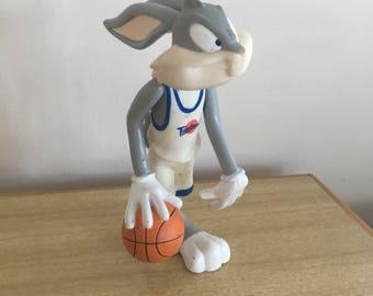Vintage Bugs Bunny Basketball Figurine Toy