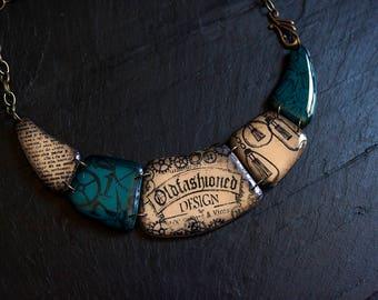Teal Curiosity Necklace