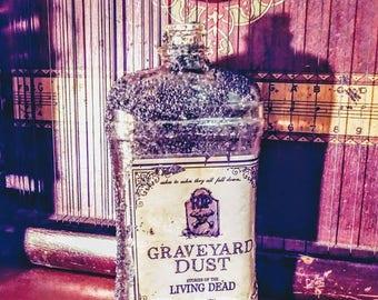 Graveyard Dust Vintage Bottle from Bottle Beach in Brookln
