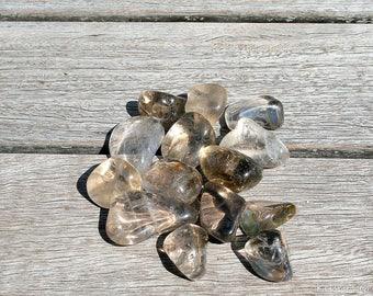 Tumbled Smokey Quartz | Healing Stone | Healing Crystal | Spiritual Stone | Tumbled Stone | Gemstone |