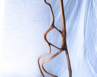 Sculpture, Driftwood, Mother and Child