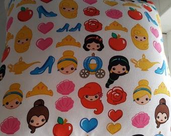 Cute Disney Princess Emoji Cushion