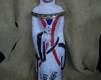 Ezra Brooks 1969 Vintage Queen of Hearts Decanter