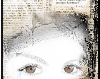 """Espanol Note Card """"Limpiará Toda Lágrima"""" -Scriptural"""