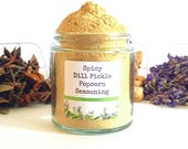 Spicy Dill Pickle Gourmet Popcorn Seasoning Spice Mix Topping Flavoring Glaze Coating Foodie Gift