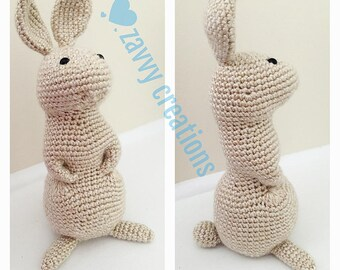 Tall Standing Bunny Rabbit -- READY TO SHIP