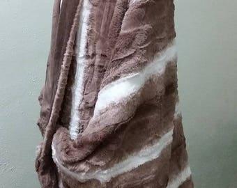 SUPER SHWUG - Medium Stripe Faux Fur