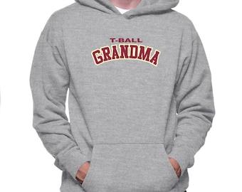 T Ball Grandma Hoodie