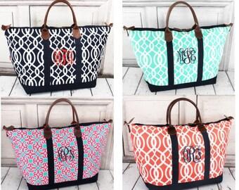 Monogrammed  Weekenders/ Overnight Bags / Travel Bags