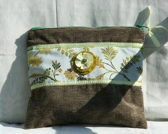 Pouch, case, purse, fabric,