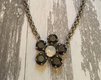 Swarovski Crystal Flower 8mm Necklace