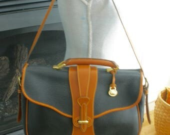 Dooney And Bourke All Weather Leather Briefcase Made In USA