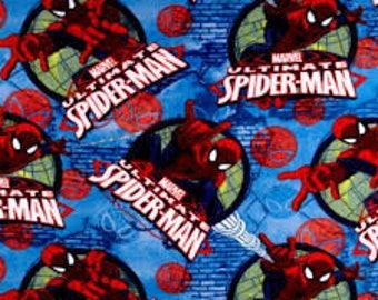 Spider-man hand tied fleece blanket