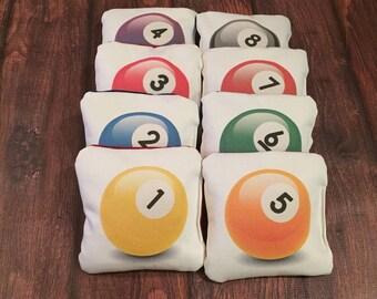 8 Ball Challenge Cornhole Bags